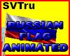 Russian flag animated