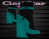 Teal Fall Boots
