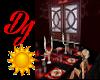 DJ Dining table animated