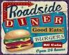 Roadside Diner Sign