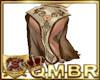 QMBR Kimono Skirt Gld