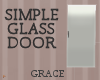 17F Simple Glass Door