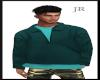 [JR] PullOver Aqua
