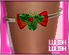 LL**  Mistletoe Garter