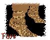 (F)Leopard Boots w/Sox