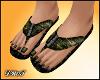 D- Camouflage Sandals
