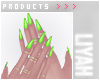 ت Lime Nails
