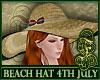 4th July Beach Hat