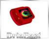 D: Red Smart Watch
