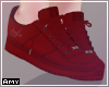 ! Red cute sneakers