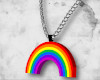 ` Rainbow necklace