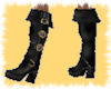 Pirate gold buckle boot