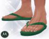 =M= Tropical Flip Flops