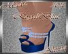 !a Alexia RoyalBlue Heel
