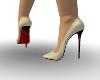 Sexy Cream Stiletto