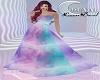 L.D rainbow dress