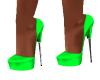 Baby Green Heels
