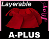 """Skirt Red Add-on PLUS"