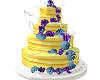 Yellow Wedding Cake 1