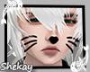 Sk! Cat Mask Black