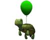 Turtle Balloon - Grass