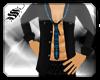 *S Shirt nBlue Plaid Tie