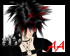 [AA] Emo Fighter Blk&red