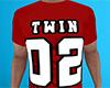 Twin 02 Shirt Red (M)