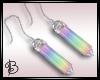 ^B^ Rainbow Earrings