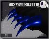 ~DC) Clawed Feet [blue]