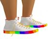 male white rainbow conv