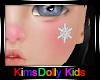 *KD* Kids Snow Sticker
