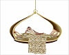 GOld Swing Bed