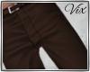 WV: Brown Slacks