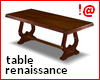 !@ Renaissance table
