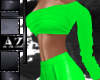 *az*escape top green