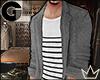 GL  FW Tweed Raglan Coat