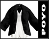 Fuwafuwa Fur Coat-Black