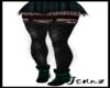 xFringe Teal Boots