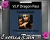 (E)VIP Pass Sticker