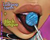 """Teeth"" for split tongue"