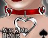 Cat~ Miss Hearts .Choker