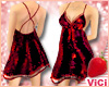 ! Vici-Sexy Sequin Red