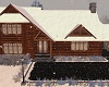 SNOWY WINTER LOGCABIN