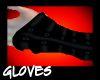 Black Buckle Gloves