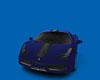 blue Exotic Italian Car