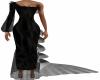 Black Rosa Mermaid Dress