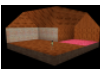 Rustic Brick L Shape