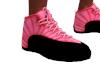 Pink Black Trainners