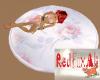 6 Pose Pink Rose Rug